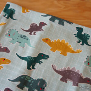 "Snood Snood printemps ""Dino"""